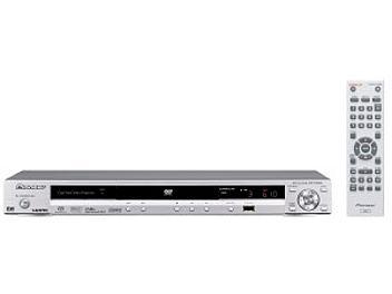 Pioneer DV-610AV-S DVD Player - Silver