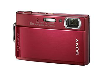 Sony Cyber-shot DSC-T300 Digital Camera - Red
