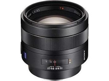 Sony SAL-85F14Z 85mm F1.4 Carl Zeiss Planar T* Lens
