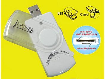 iMono Mobile Express Card Reader/Writer - White