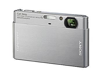 Sony Cyber-shot DSC-T77 Digital Camera - Silver