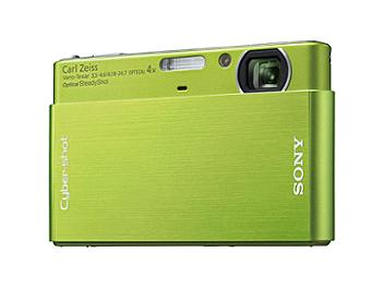 Sony Cyber-shot DSC-T77 Digital Camera - Green
