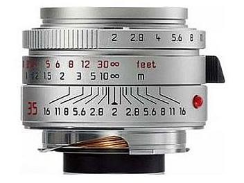 Leica Summicron-M 2.0/35 Lens - Silver
