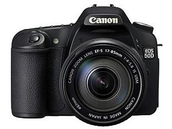 Canon EOS-50D DSLR Camera Kit with Canon EF-S 17-85 IS USM Lens