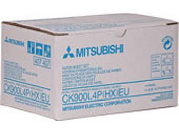 Mitsubishi CK900L4P Paper with Ink Ribbon