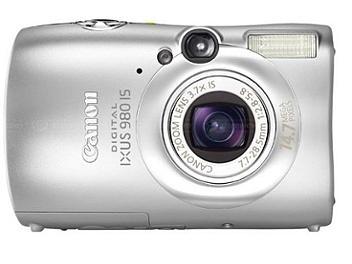 Canon IXUS 980 IS Digital Camera - Silver