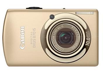 Canon IXUS 870 IS Digital Camera - Gold