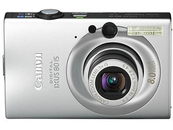 Canon IXUS 80 IS Digital Camera - Silver