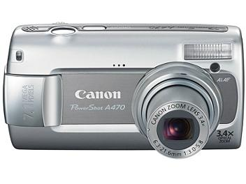 Canon PowerShot A470 Digital Camera - Grey