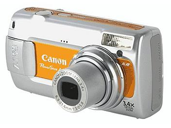 Canon PowerShot A470 Digital Camera - Orange