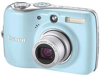 Canon PowerShot E1 Digital Camera - Blue
