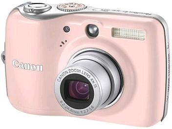 Canon PowerShot E1 Digital Camera - Pink