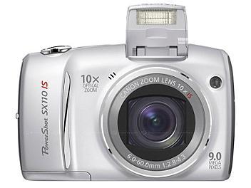 Canon PowerShot SX110 IS Digital Camera - Silver