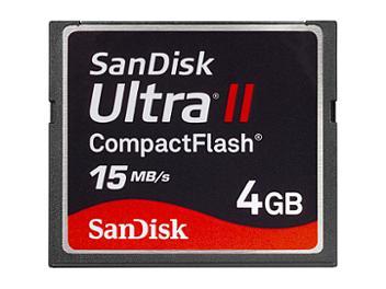 SanDisk 4GB Ultra II CompactFlash Card (pack 25 pcs)