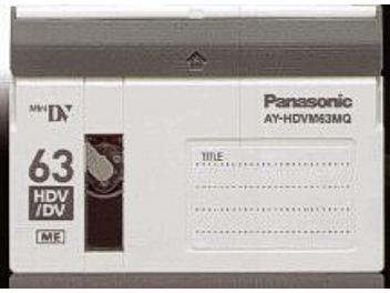 Panasonic AY-HDVM63MQ HDV Cassette (pack 50 pcs)