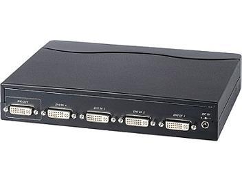 Globalmediapro Y-307 4x1 DVI Switcher