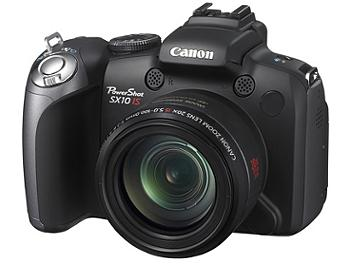 Canon PowerShot SX10 IS Digital Camera - Black