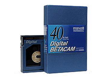 Maxell B-D40 Digital Betacam Cassette (pack 10 pcs)
