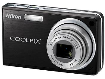Nikon Coolpix S550 Digital Camera - Black