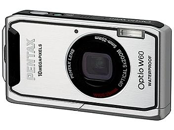 Pentax Optio W60 Digital Camera - Silver