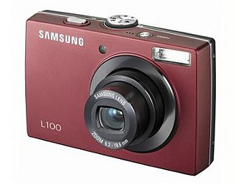 Samsung L100 Digital Camera - Red