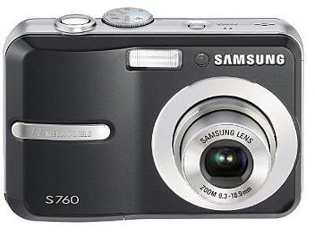Samsung S760 Digital Camera - Black