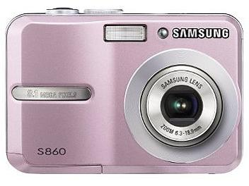 Samsung S860 Digital Camera - Pink