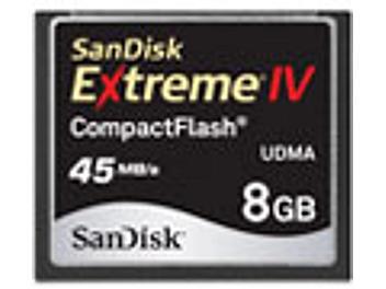 SanDisk 8GB Extreme IV CompactFlash Card