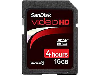 SanDisk 16GB Video HD Class-4 SDHC Card