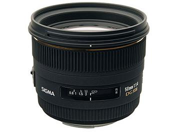 Sigma 50mm F1.4 EX DG HSM Lens - Four Thirds Mount