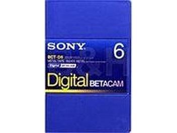 Sony BCT-D6 Digital Betacam Cassette