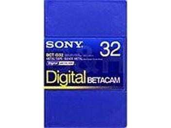Sony BCT-D32 Digital Betacam Cassette