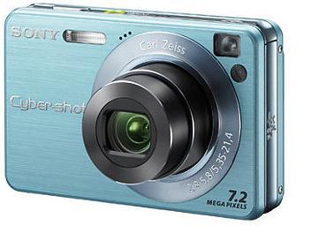 Sony Cyber-shot DSC-W120 Digital Camera - Blue