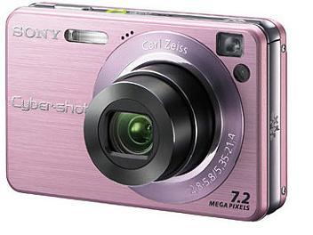 Sony Cyber-shot DSC-W120 Digital Camera - Pink