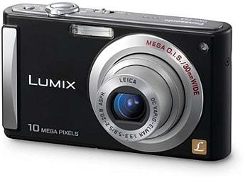 Panasonic Lumix DMC-FS20 Digital Camera - Black