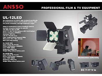 Ansso UL-12LED-S 3200 Camera Light