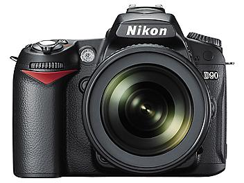 Nikon D90 DSLR Camera Kit with Nikon 18-55mm VR Lens and Nikon 55-200mm VR Lens