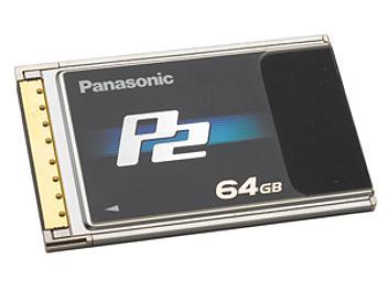 Panasonic AJ-P2C064RG P2 Card 64GB