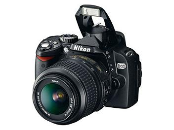 Nikon D60 DSLR Camera Kit II