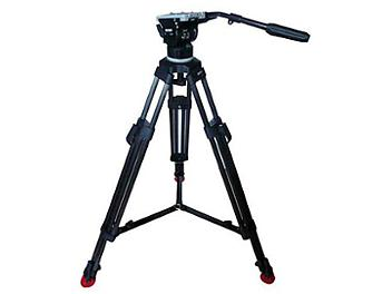 Deree A100 Head + T-20C Carbon Fiber Legs + Ground Spreader Tripod System