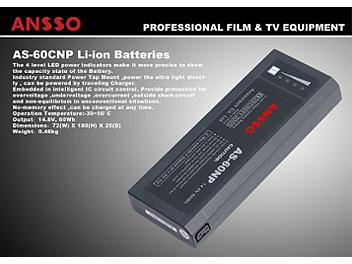 Ansso AS-60CNP Lithium ion Battery 60Wh