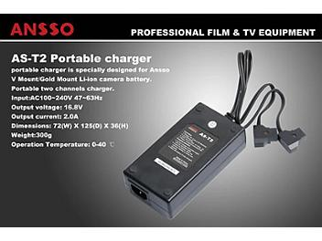 Ansso AS-T2 Battery Charger