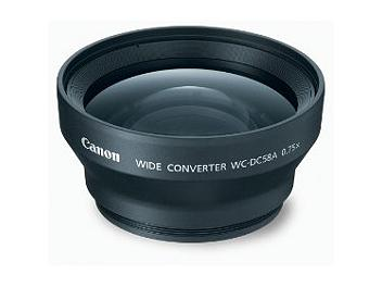 Canon WC-DC58A 0.75x Wide Angle Converter Lens