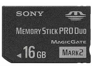 Sony MSX-M16GB Memory Stick Pro Duo Card