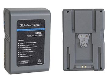 Globalmediapro Li190S-R V-Mount Li-ion Battery 190Wh for Red Camera