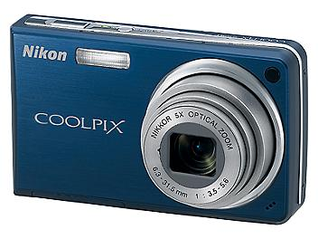 Nikon Coolpix S550 Digital Camera - Blue