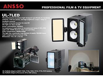 Ansso UL-7LED-P Camera Light