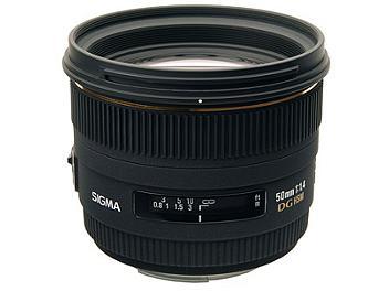 Sigma 50mm F1.4 EX DG HSM Lens - Canon Mount