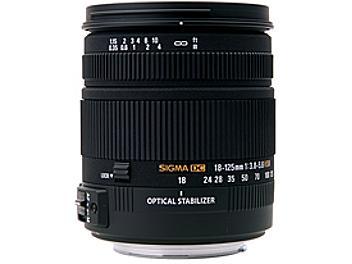 Sigma 18-125mm F3.8-5.6 DC OS HSM Lens - Sigma Mount