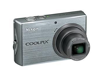 Nikon Coolpix S710 Digital Camera - Silver